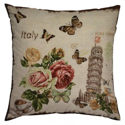 SIGHTS OF ITALY CUSHION COVER